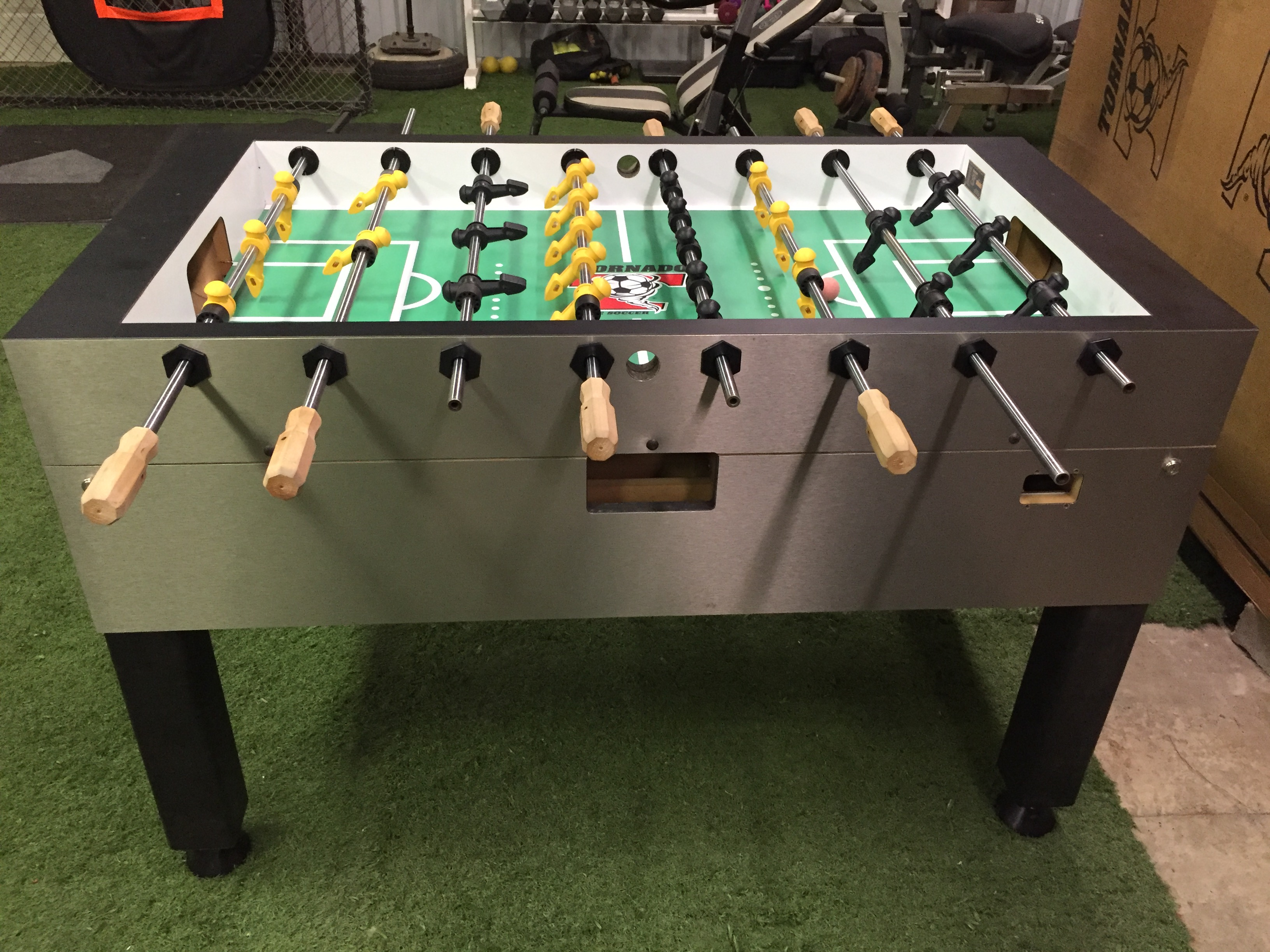 Miraculous Used Tornado Foosball Table Home Model Used Parts Forsale Download Free Architecture Designs Scobabritishbridgeorg