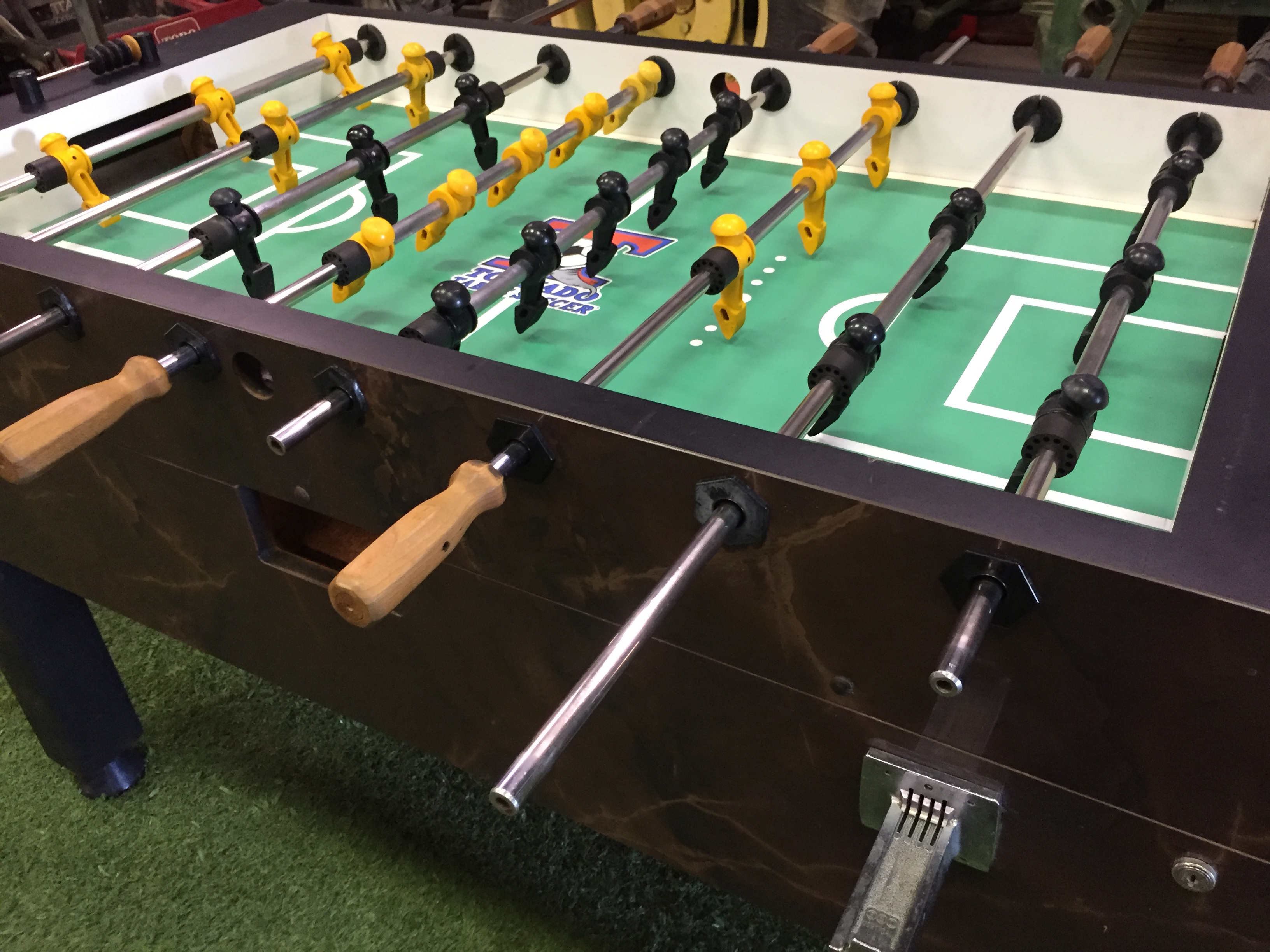 Used Tornado Foosball Table Home Model Amp Used Parts Forsale